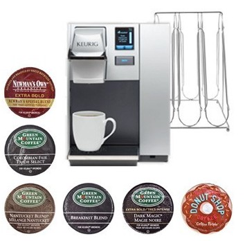 Keurig B155 Home Office Pro Brewer Holiday Special Value Packs