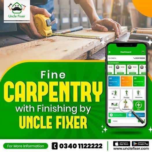 Carpenter near me   Carpentry Service – Uncle Fixer