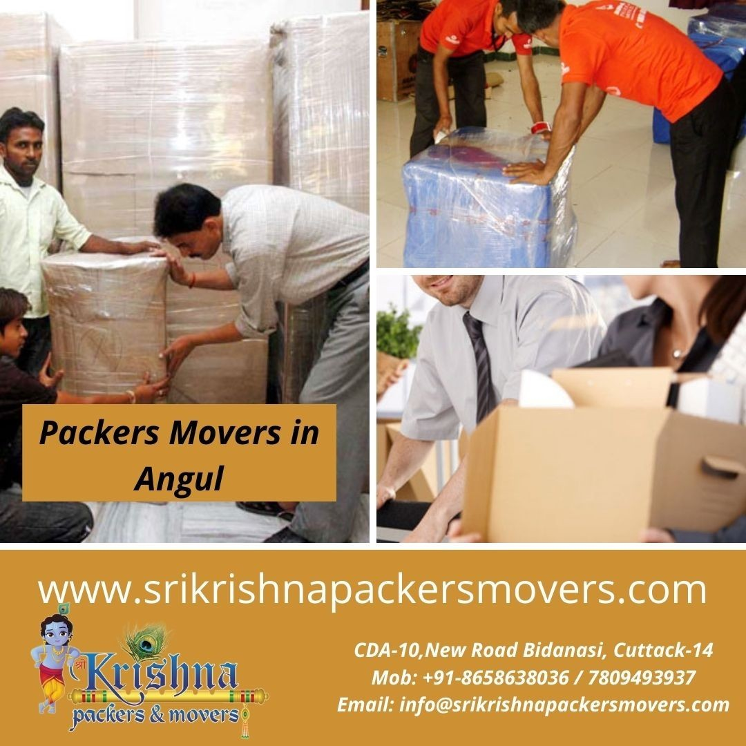 Packers Movers in Angul