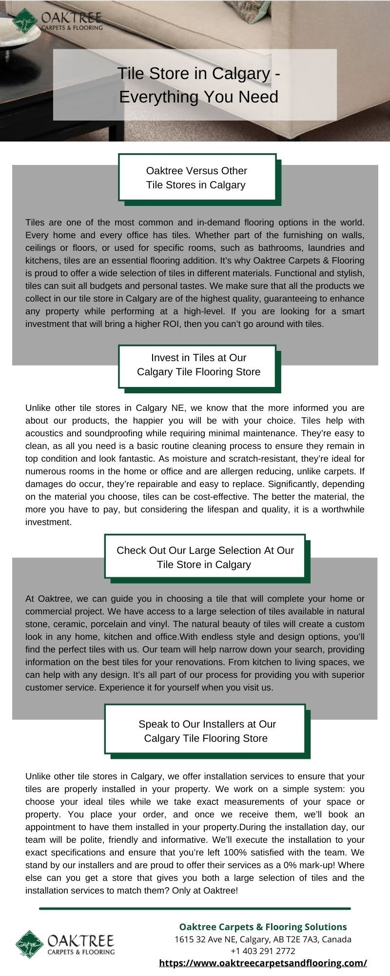 ''  Tile Store in Calgary - Everything You Need''