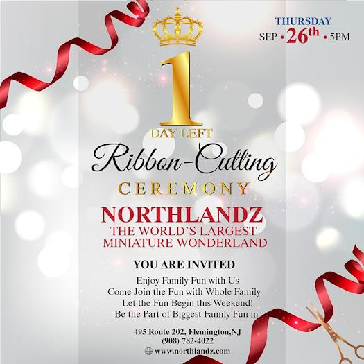 Northlandz Ribbon Cutting Day Celebration