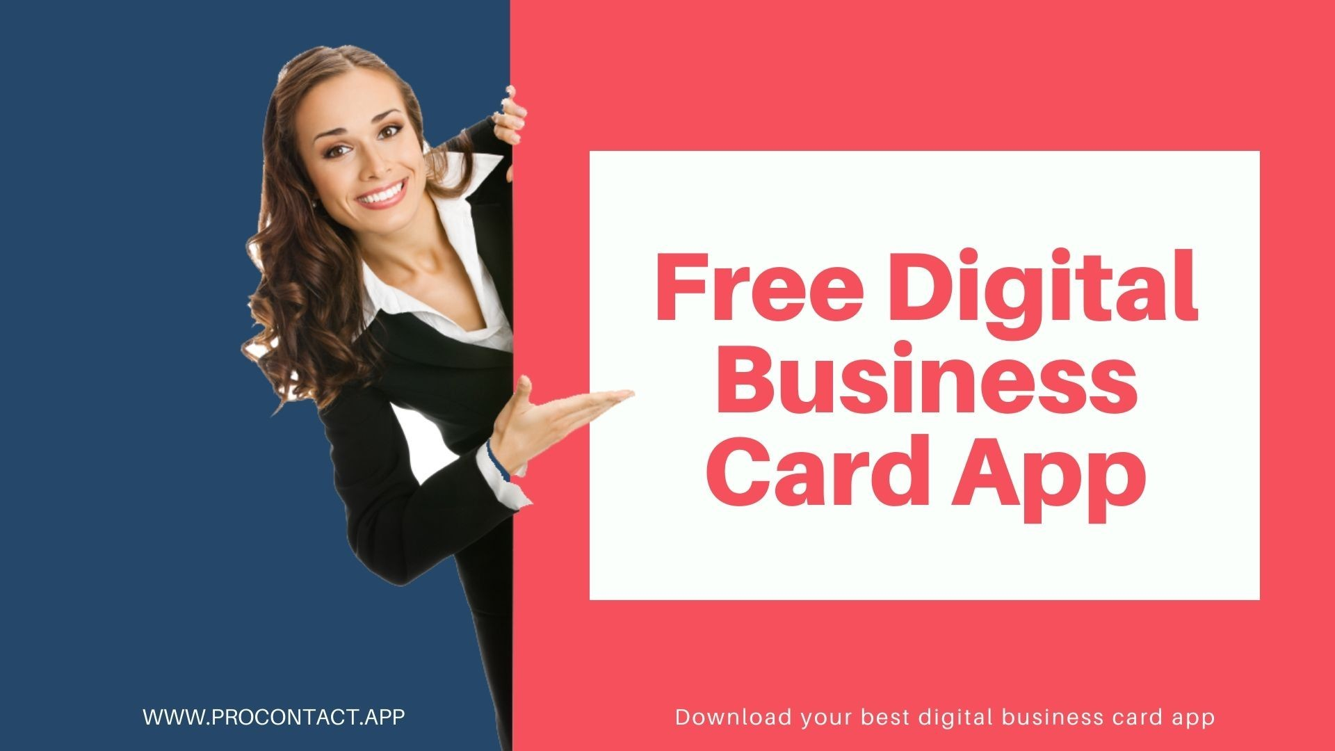 Free Digital Business Card App, You Know You Want It.