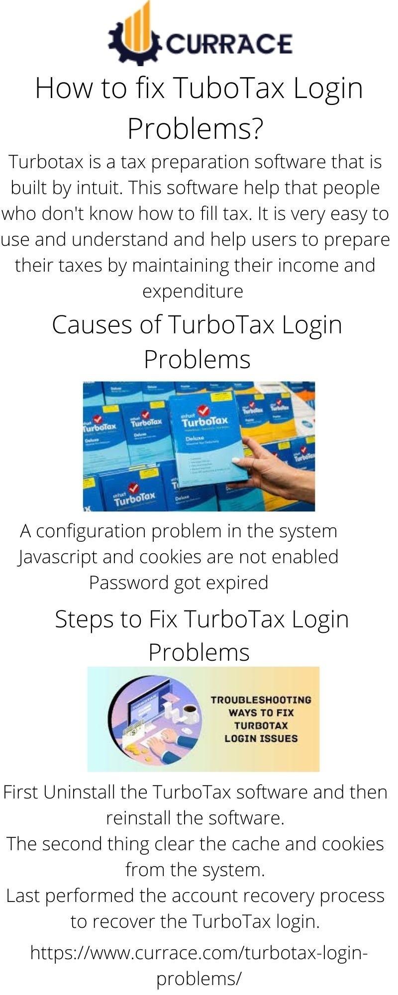How to fix TurboTax Login Problems?