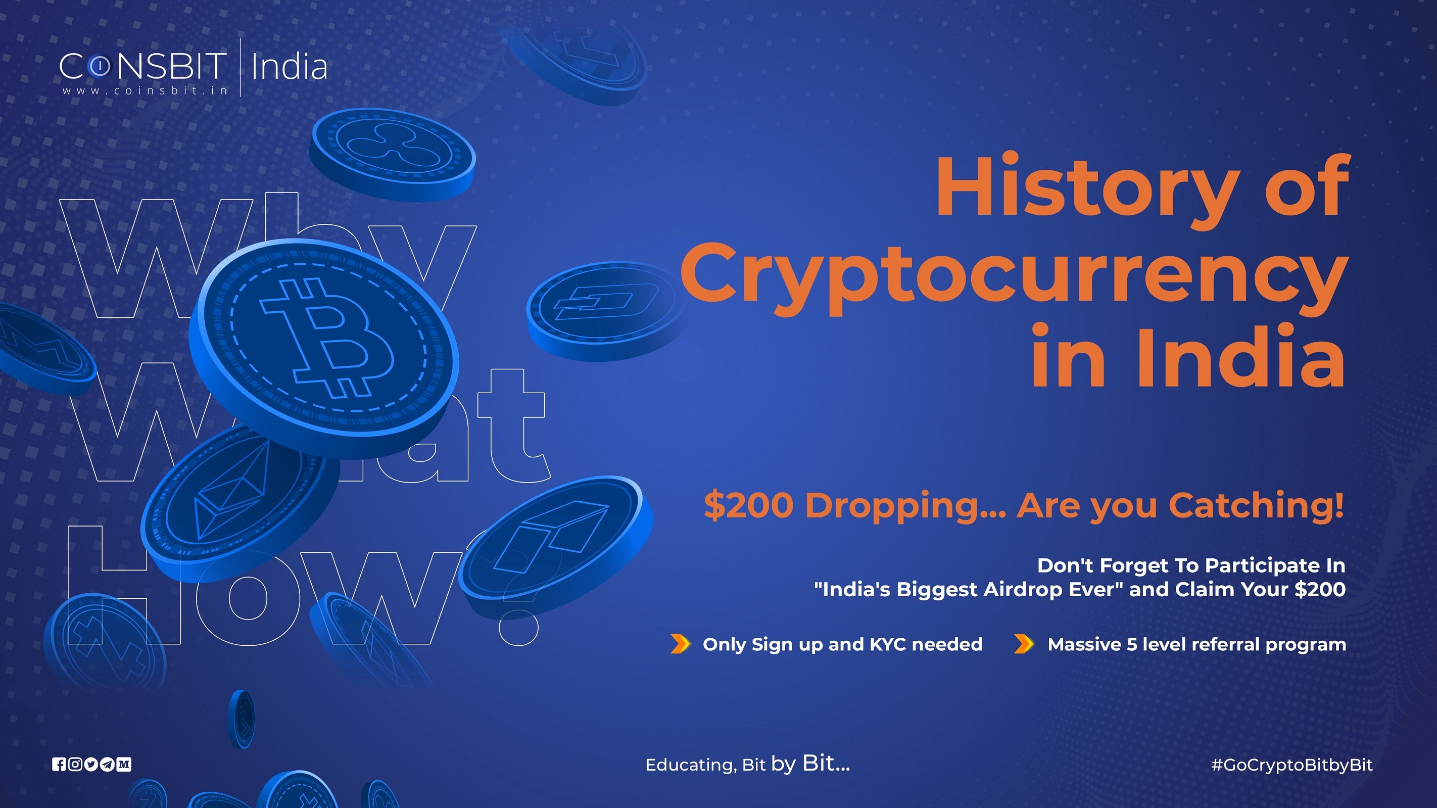 History of Cryptocurrency in India