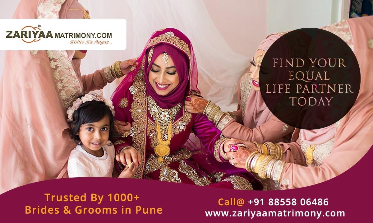 Muslim Matrimony Pune | Mumbai Muslim Brides and Grooms | zariyaamatrimony.com