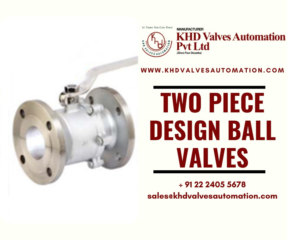 Two-Piece Design Ball Valves