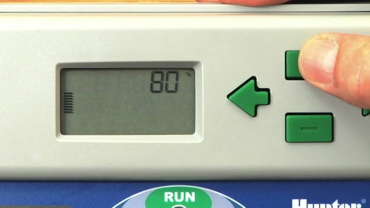 Solar sync irrigation controller