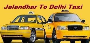 Jalandhar To Delhi Taxi At Jmdcabs