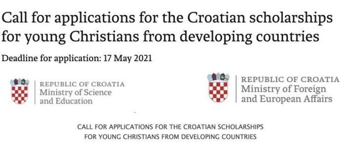 Croatian Government Undergraduate & Graduate Scholarships 2021/2022