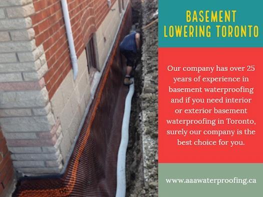 Basement Lowering Toronto