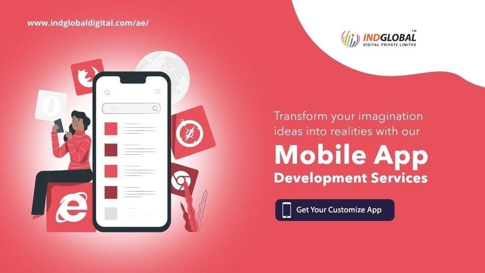 Mobile App Development company Dubai, Sharjah, Abu Dhabi