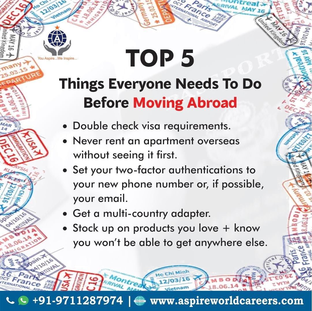The 12 Things Every Expat Needs To Do Before Moving Abroad