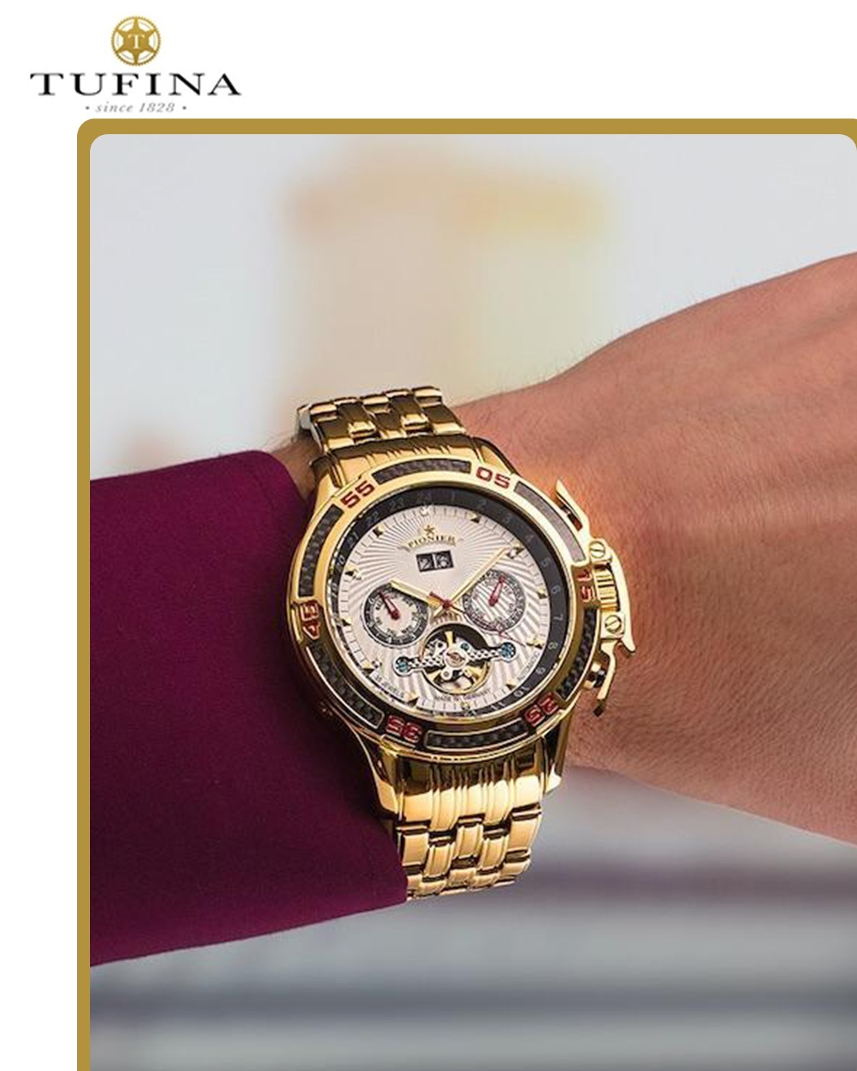 German Watches   Automatic Watches   Tufina