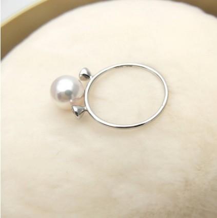 Find luxury Akoya pearls rings online