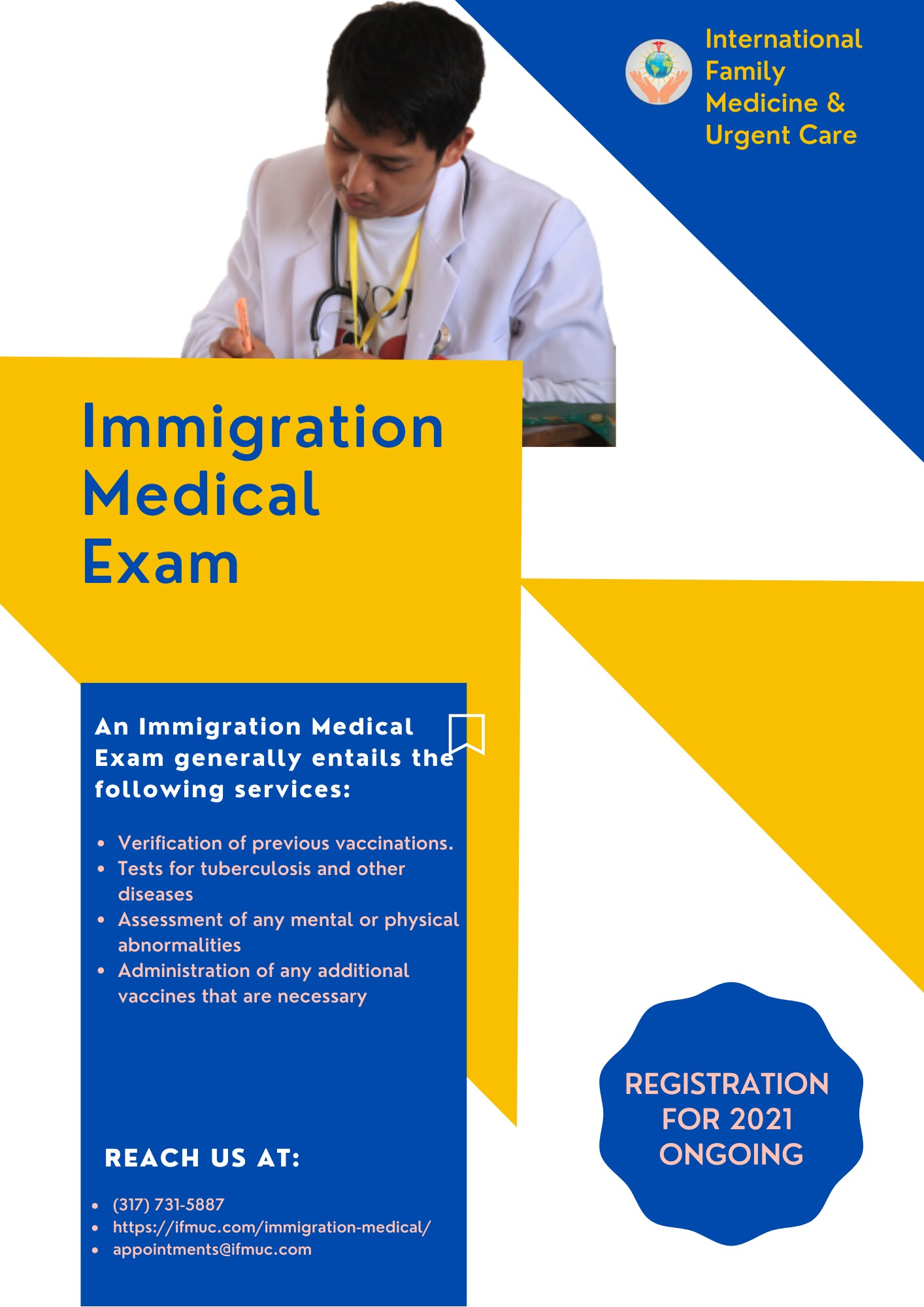 Immigration Medical in Indiana