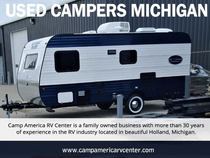 Used Campers Michigan