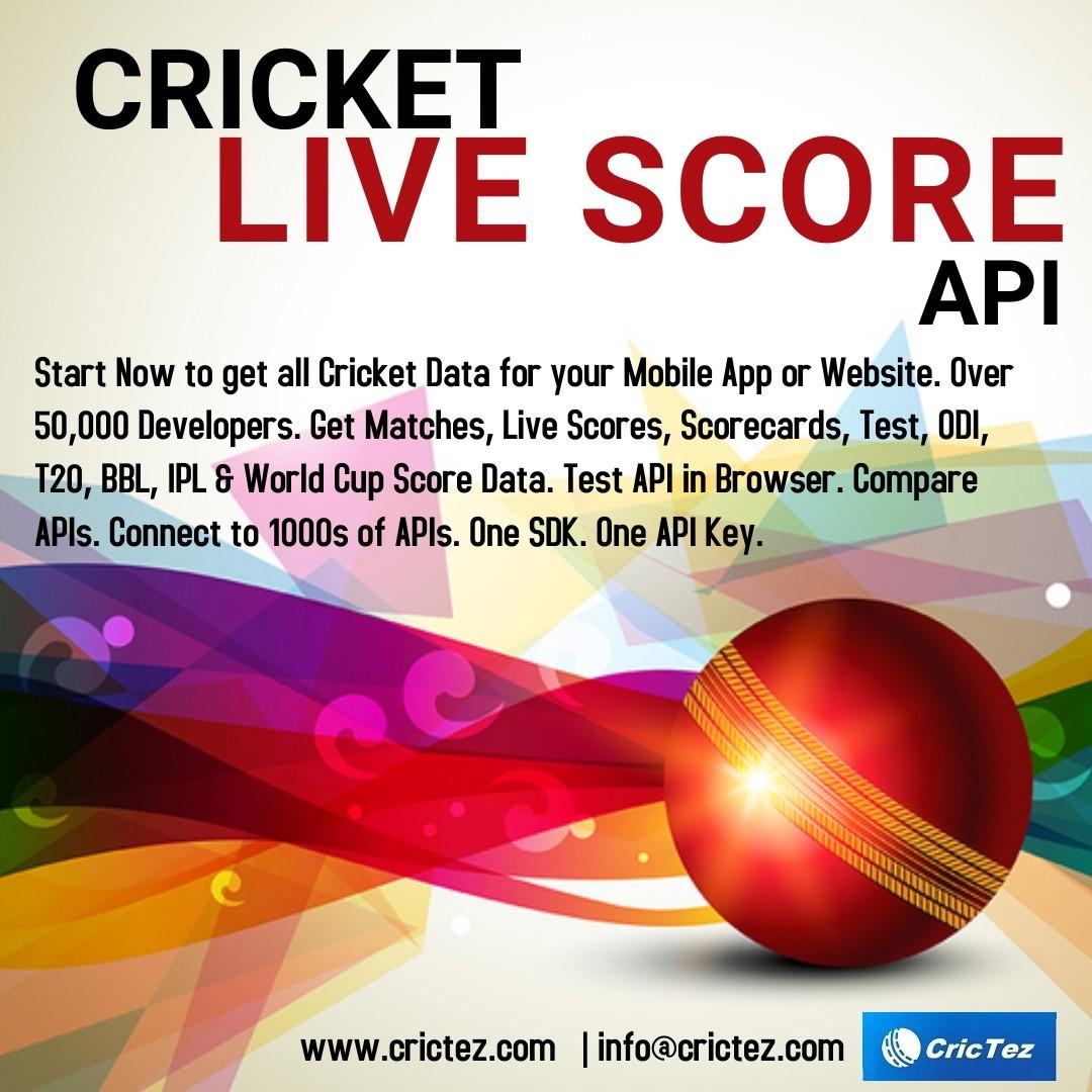 world's most advanced cricket data provider called CricTez