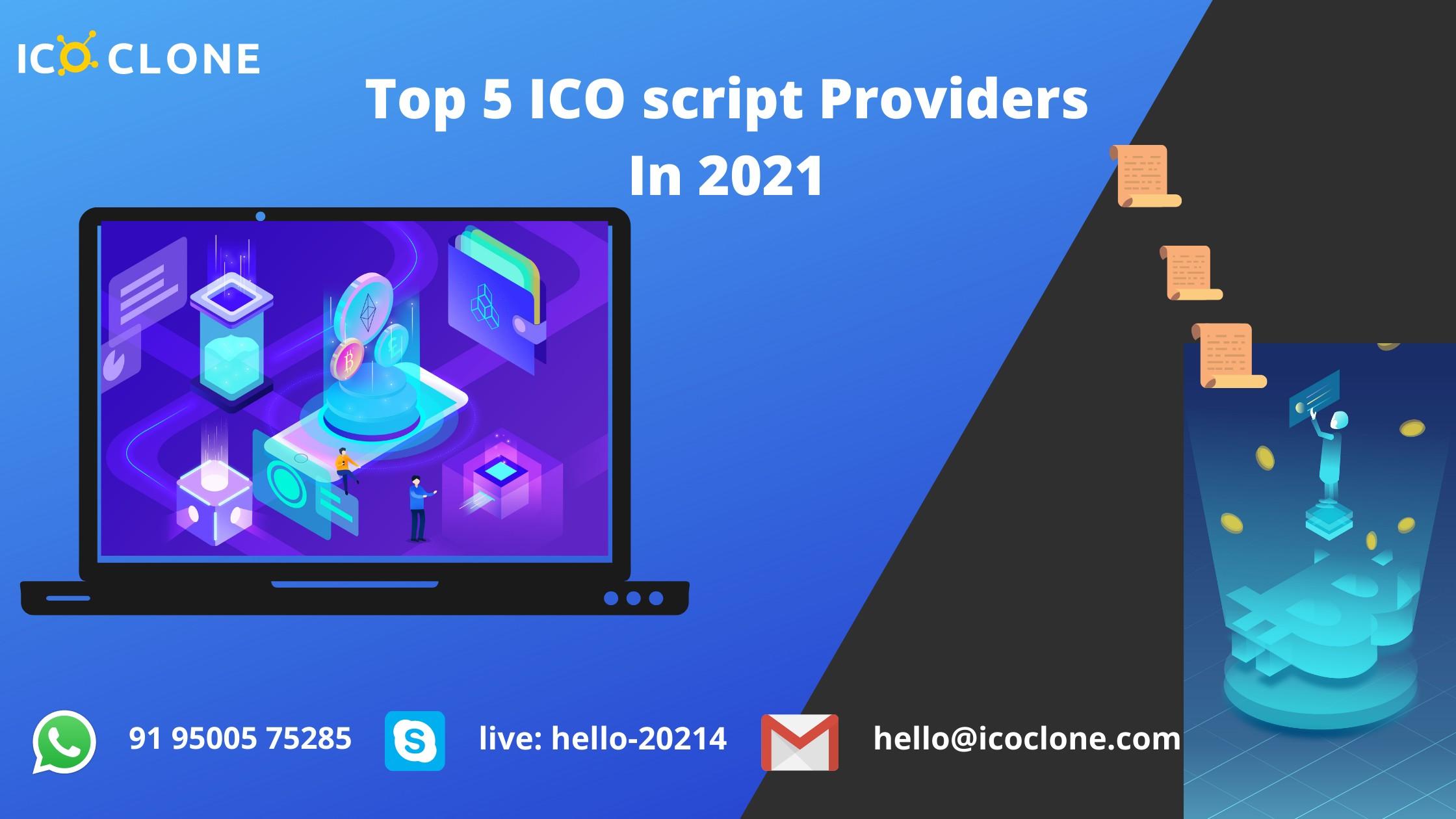 Top 5 ICO Script Providers In 2021