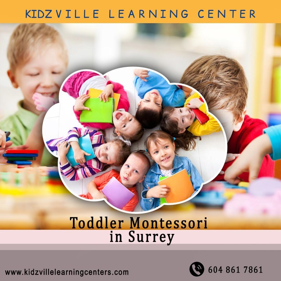 preschool in surrey   KidzVille Learning Centre