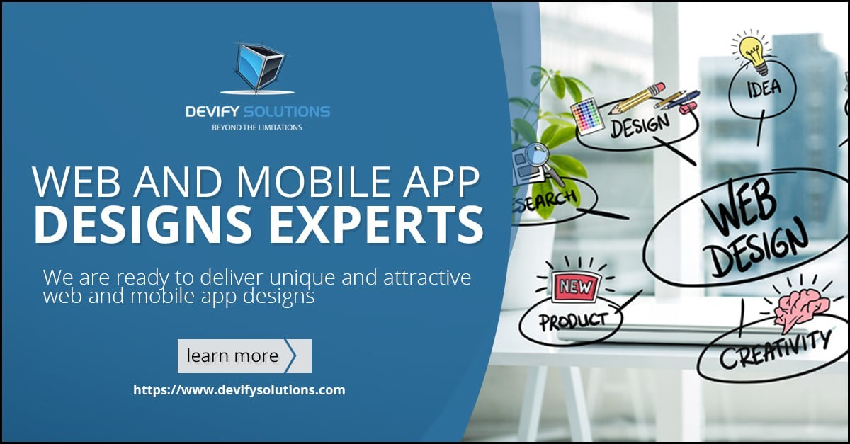 Web and Mobile App Designs Experts