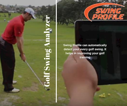 Golf Swing Analyzer |Swing Profile