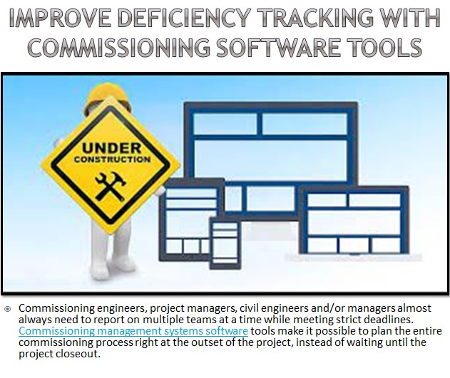 Improve Deficiency Tracking with Commissioning Software Tools