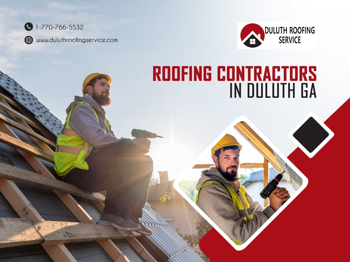 Roofing contractors in duluth