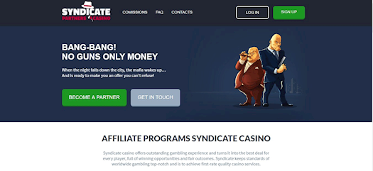 Syndicate — a brand new casino club