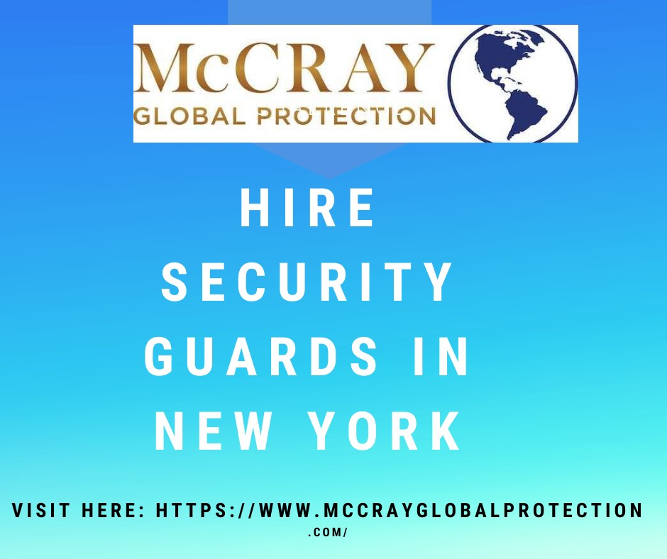 7 Security guards services provided by McCray Global Protection