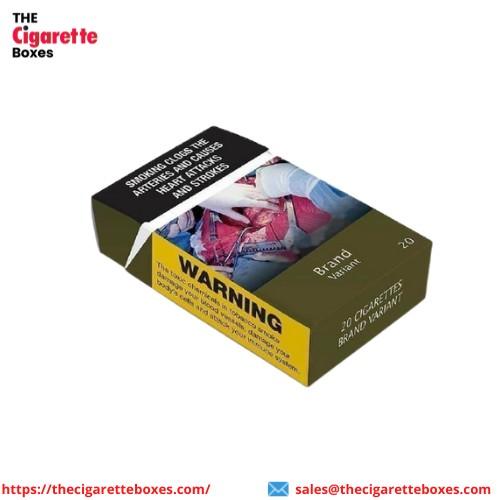 Custom Cigarette Packaging Boxes