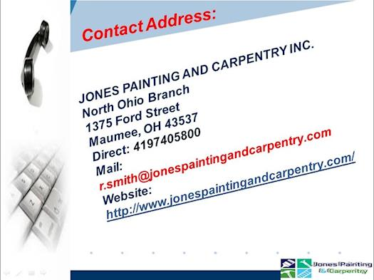 Trustworthy Commercial Painting Contractor-Jonespaintingandcarpentry