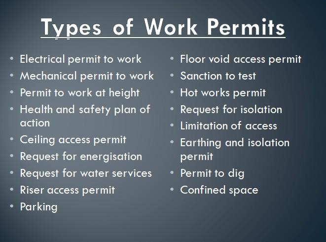 Safety Work Permit System