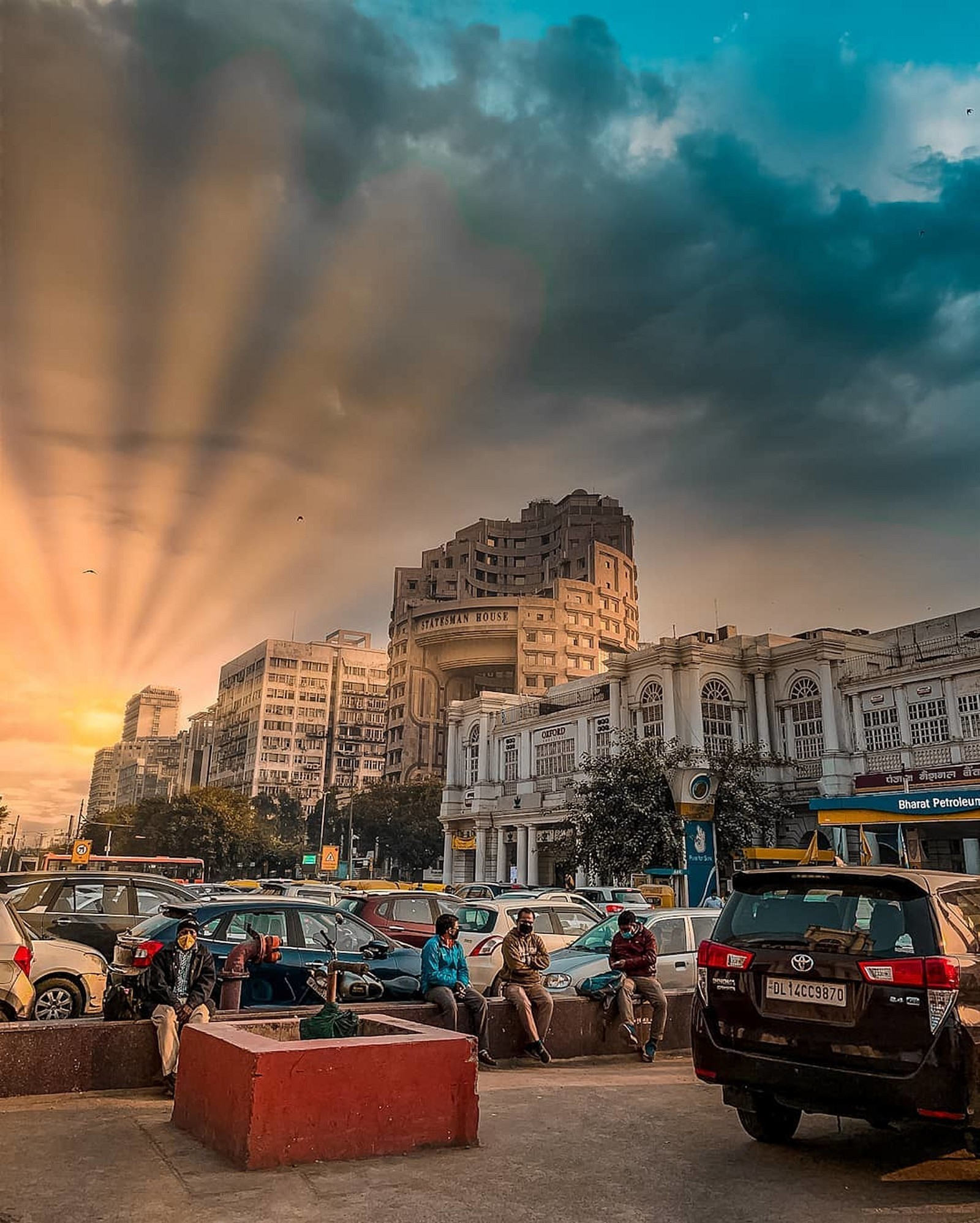 Connaught Place The Heart of Delhi.
