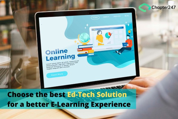 Remote E-learning Solutions by Chapter247 Infotech