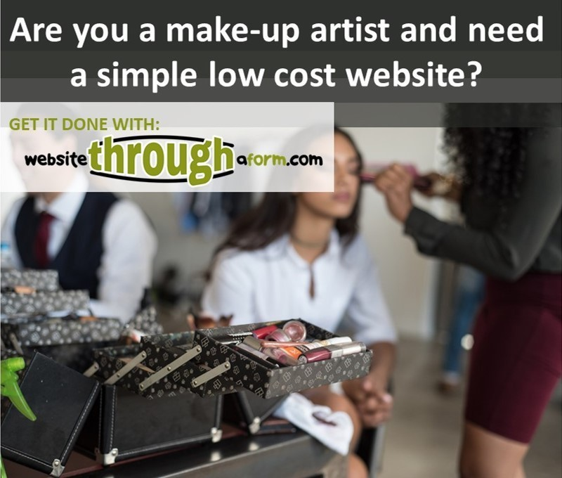Are you a make-up artist who needs a website