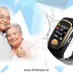 Elder health monitor Emergency Watch for Alzheimer's & Dementia Patient