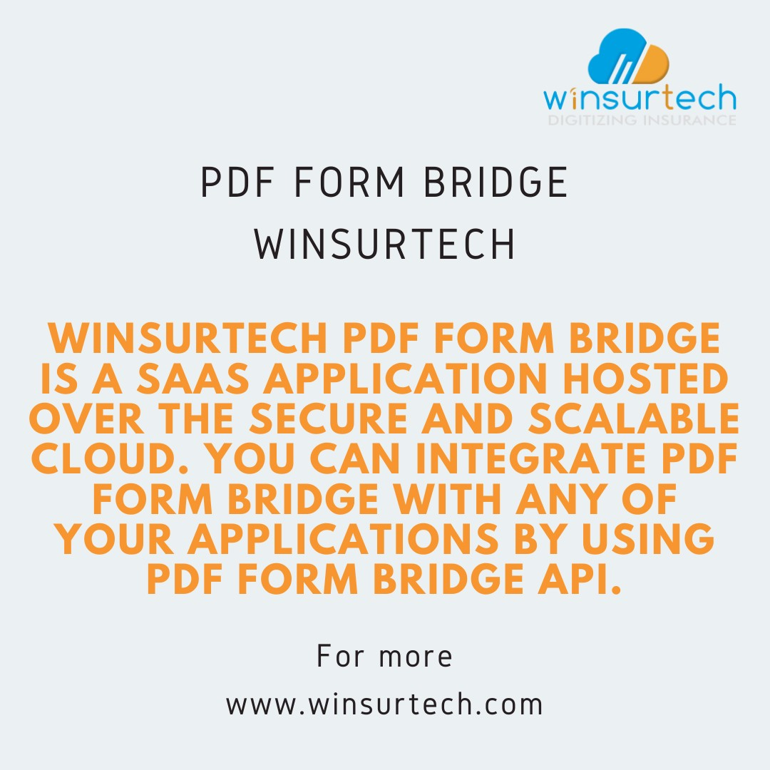 PDF Form Bridge - Fill ACORD and other PDF Forms in the Browser - Winsurtech