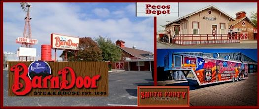 The Legendary Barn Door Restaurant & Pecos Depot