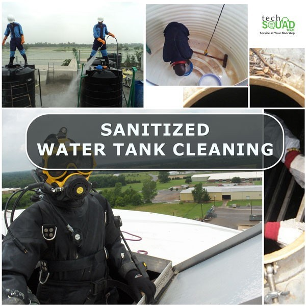 Sanitized Water Tank Cleaning Services in Bangalore