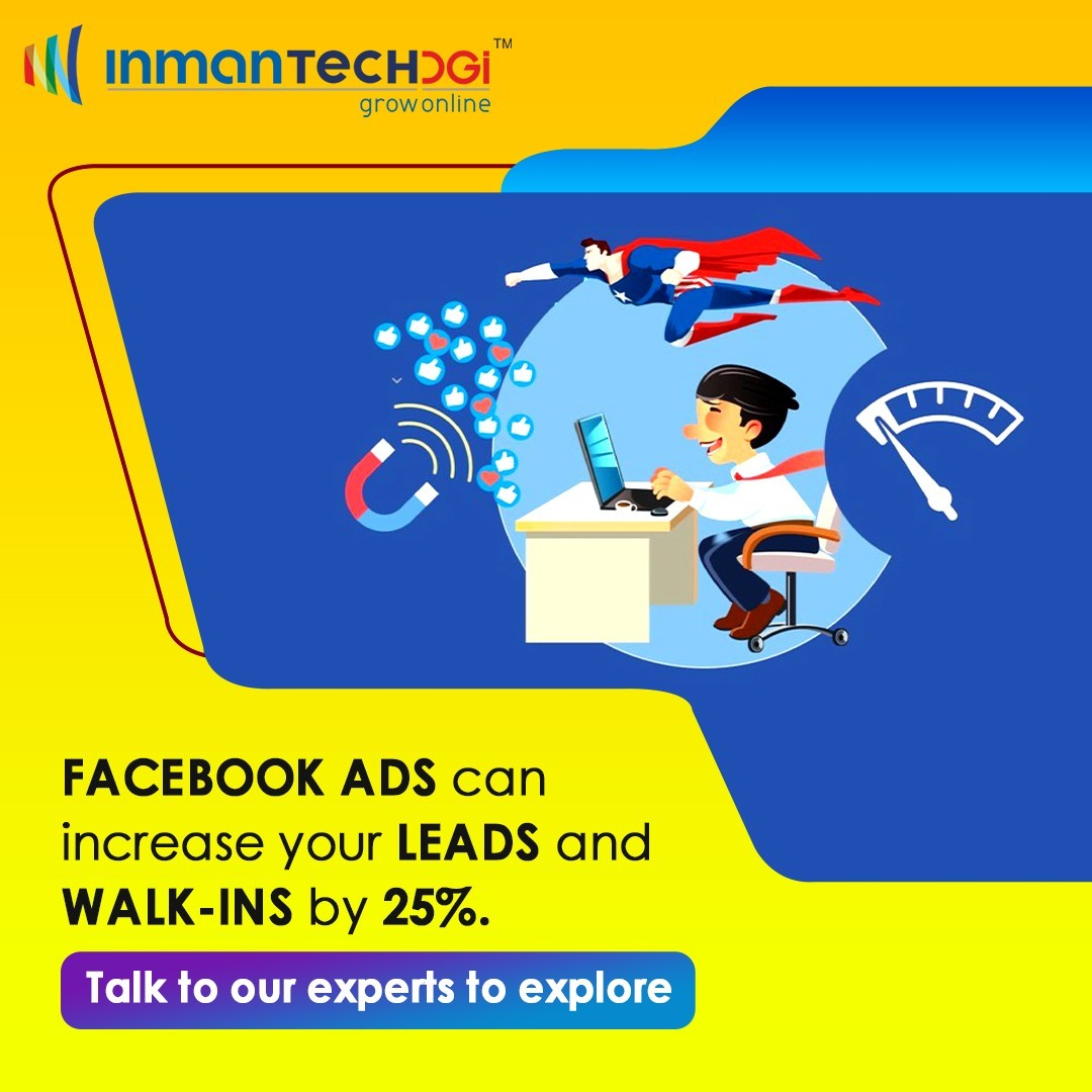 Facebook Advertising, Social Media Marketing Agency in Hyderabad- Inmantech DGi