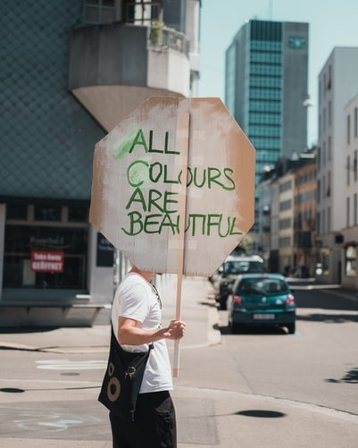 All Colours Are Beautiful.