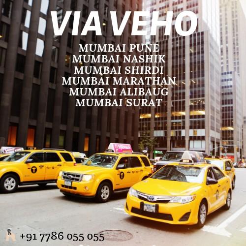 Via Veho Cab Service | Mumbai Pune Taxi Service