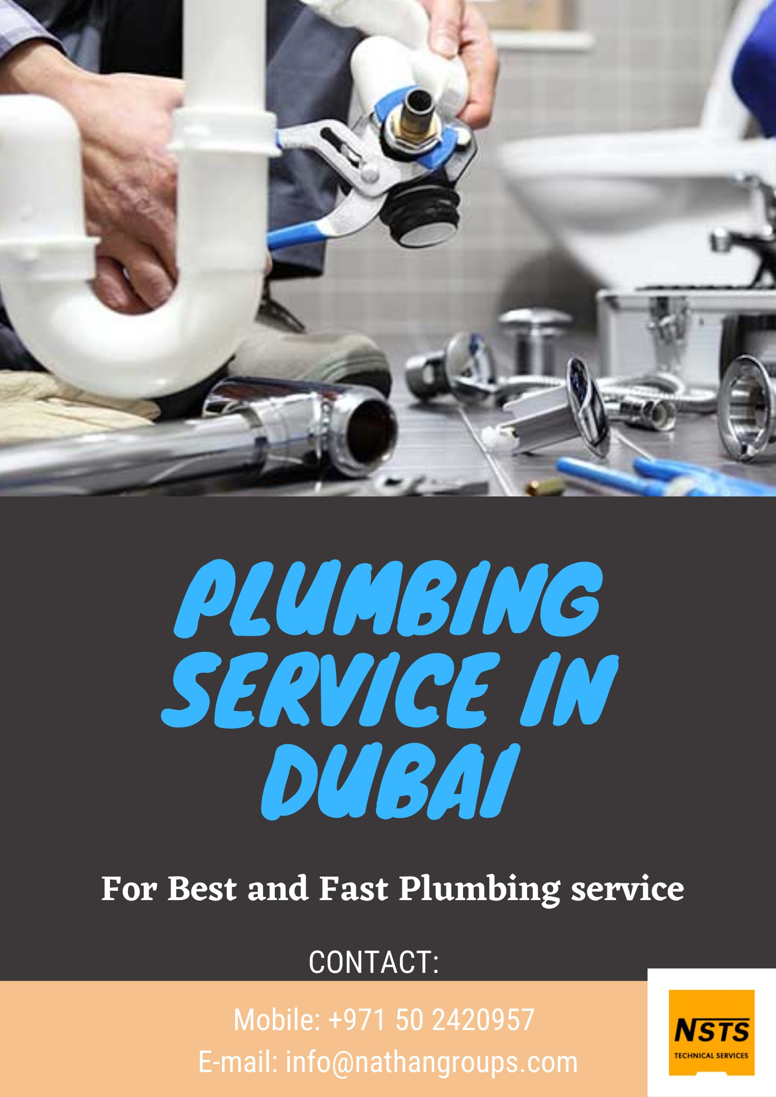 Plumbing service in Dubai