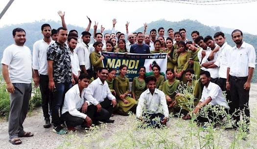 Tree plantation in Himachal