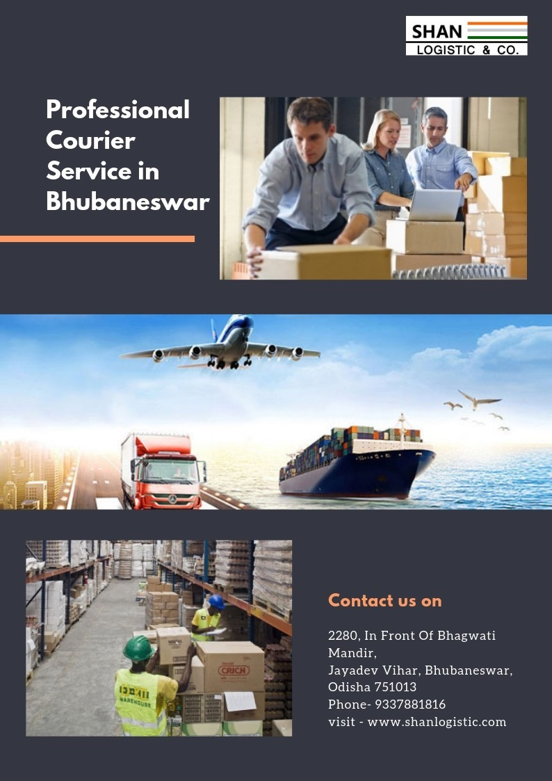 Professional  Courier Service in Bhubaneswar