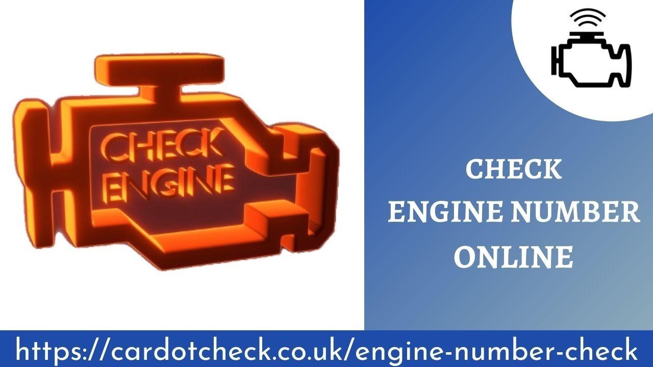vehicle engine check