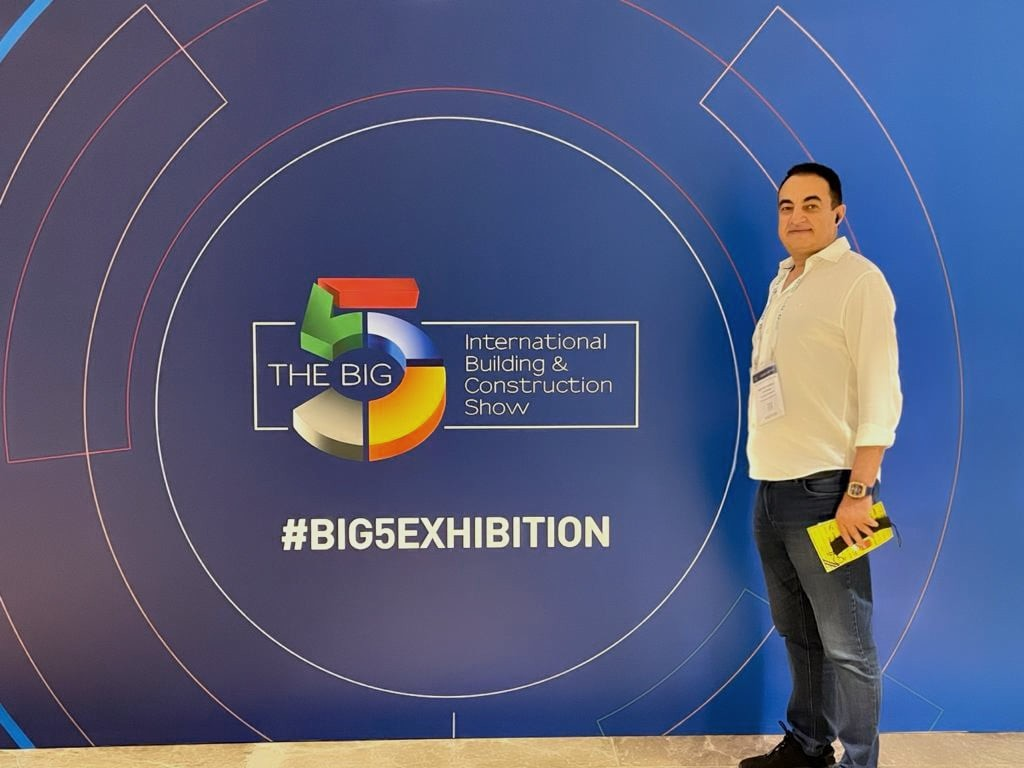 Mohamed Dekkak Attending ''The Big 5 Exhibition'' International Building & Construction Show