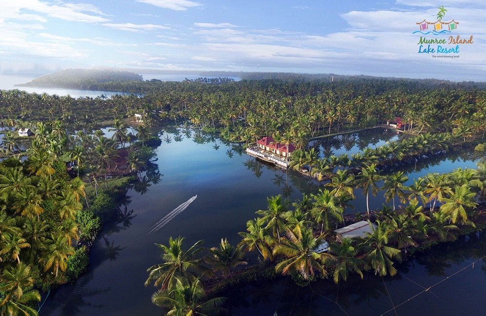Best island resorts in kollam