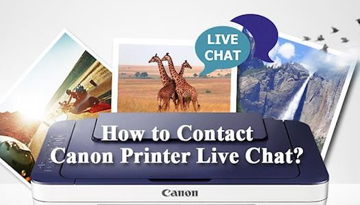 How to Contact Canon Printer Live Chat?
