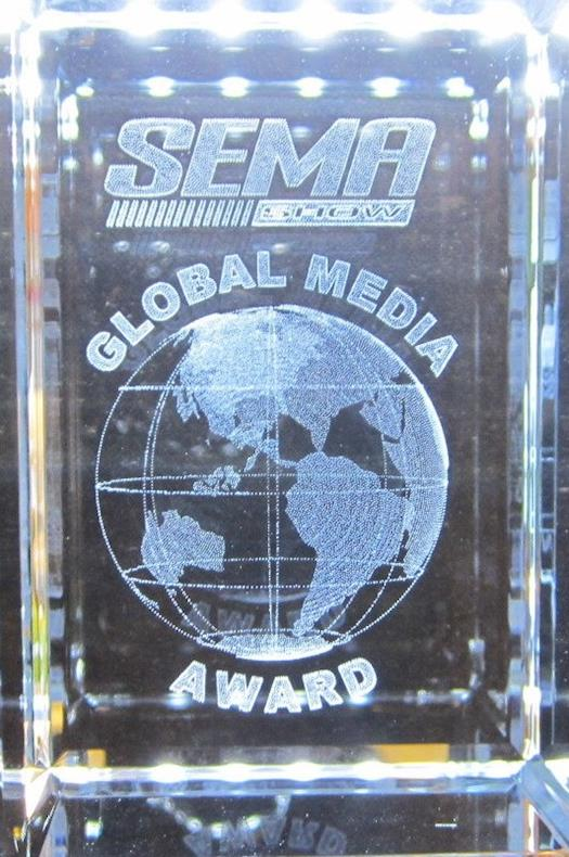 SEMA Show Global Media Award